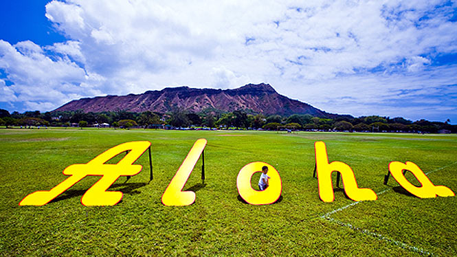 Aloha from Hawaii