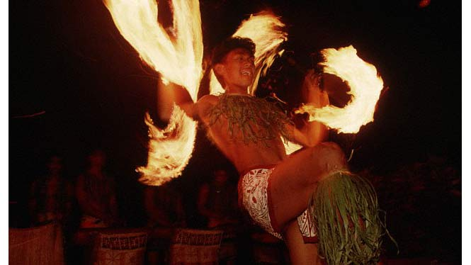 Samoan Firedance