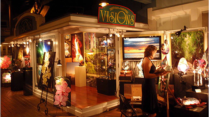 Lahaina art night
