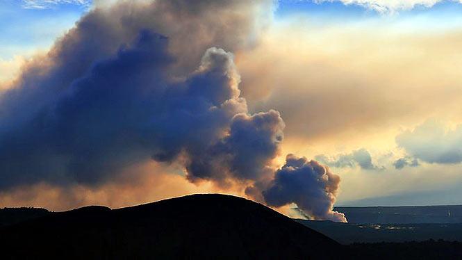 vog from Kilauea volcano