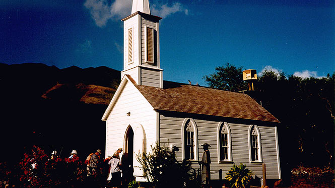 Father Damien's Church