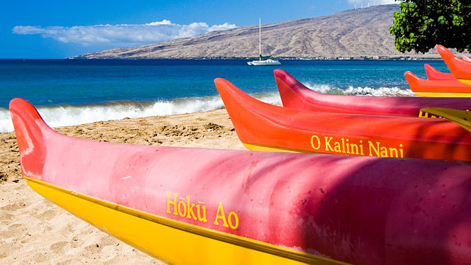 Modern Hawaiian Canoes