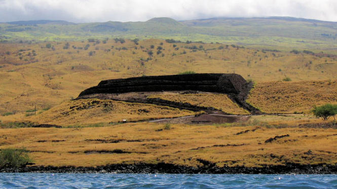 Pu'ukohala Heiau still standing today