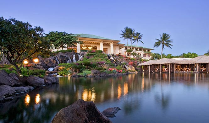 Hyatt resort ans spa Poipu
