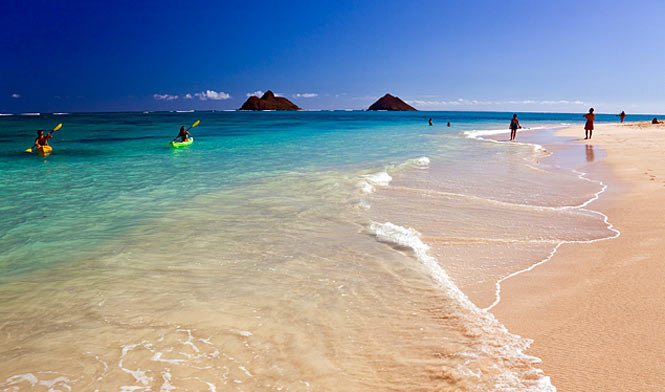 Another perfect day at Kailua Beach