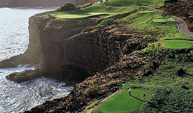 Manele Resort golf