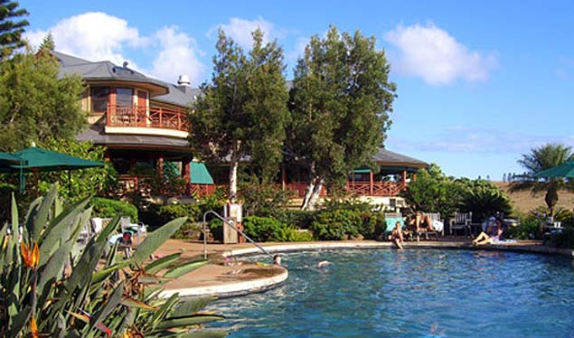 The lodge at the Molokai ranch