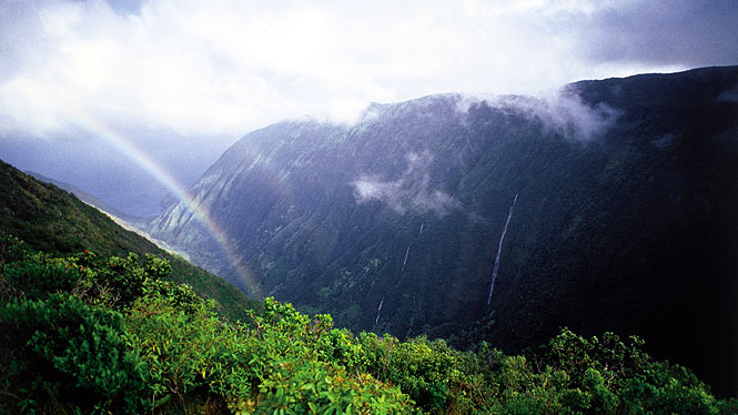 Halawa Valley on Molokai
