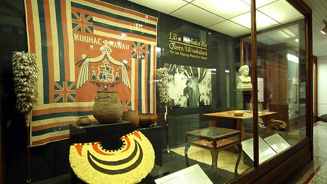 Display at bishop museum