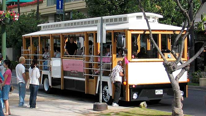 Waikiki Trolley