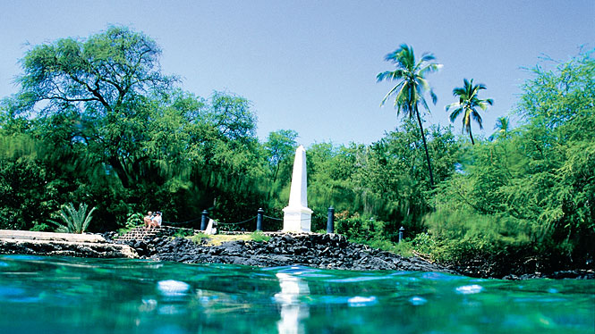 Capt. Cook Monument, Big Island