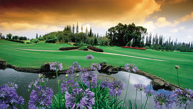 Experience at Koele, Lanai golf course