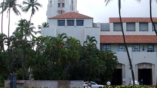 Hawaii City Hall Honolulu Hale City Hall