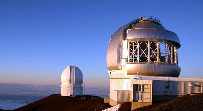 Mauna Kea observatory on the big island