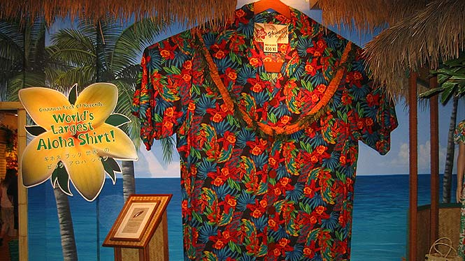 Worlds largest aloha shirt 400xl
