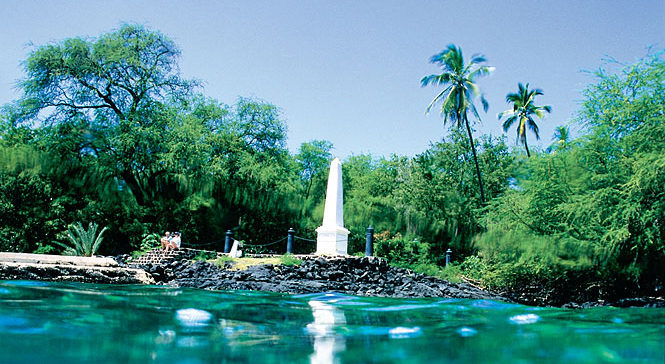 Capt. Cook Monument, Big Island