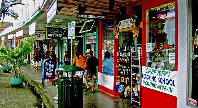 Hilo town shops