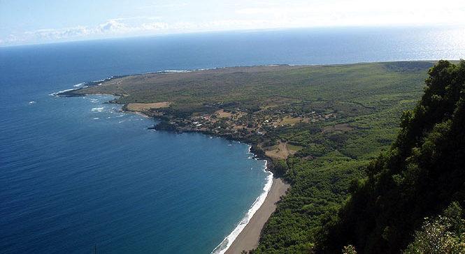 overlooking Kalaupapa