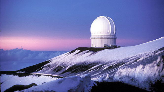 Observatory on the big island