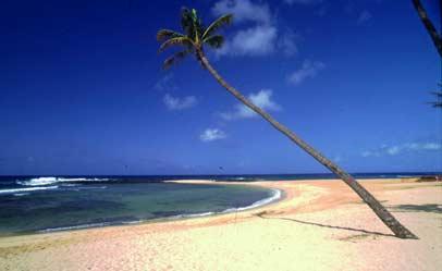 Poipu Beach on Kauai