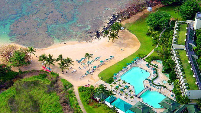 The St. Regis hotel in princeville