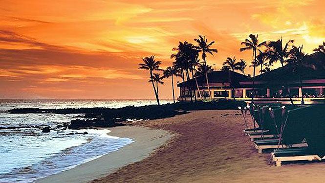 south side resort sunset