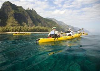 Napali Coast kayak voyage