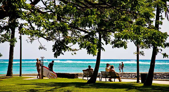 Kapiolani Beach Park