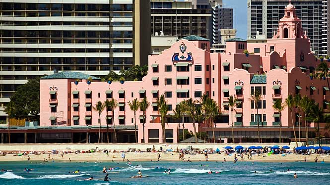 Royal Hawaiian Beach