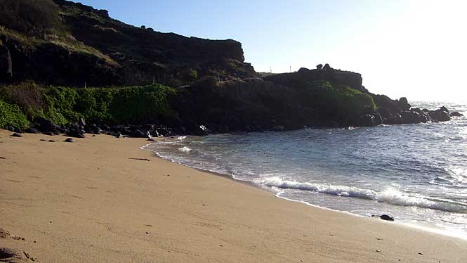 Honouli Maloo Beach