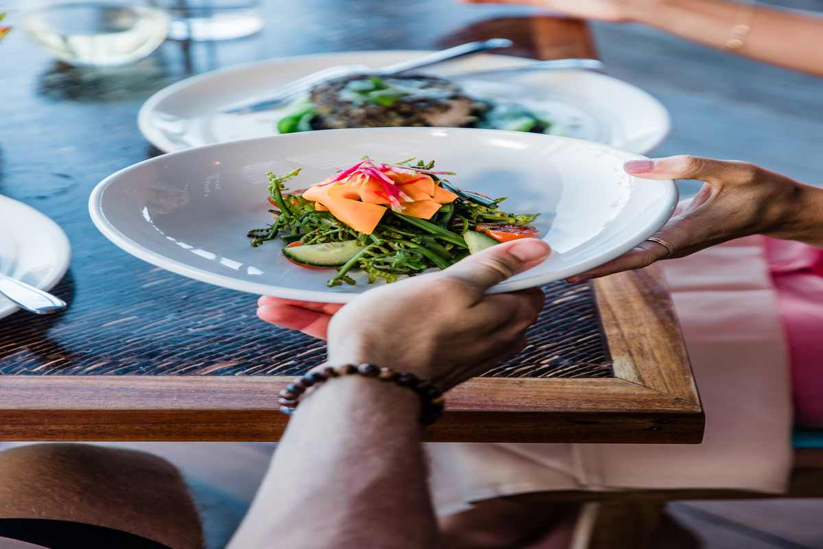 Hawaii regional cuisine is both eye appealing and very tasteful