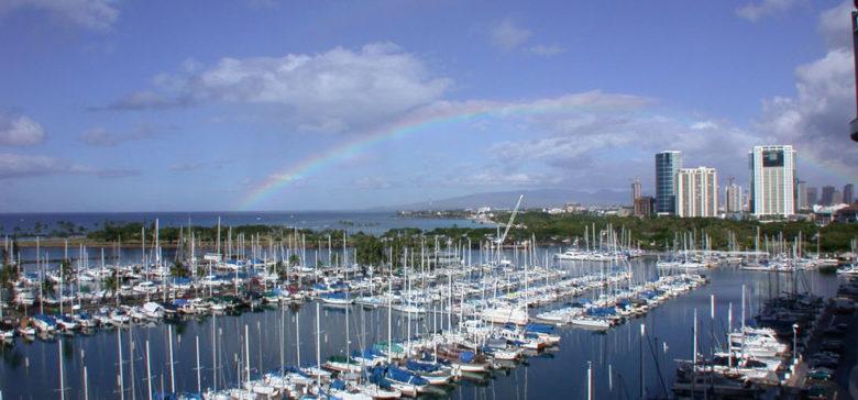 View of the Marina from Lanai - Condo 1189.